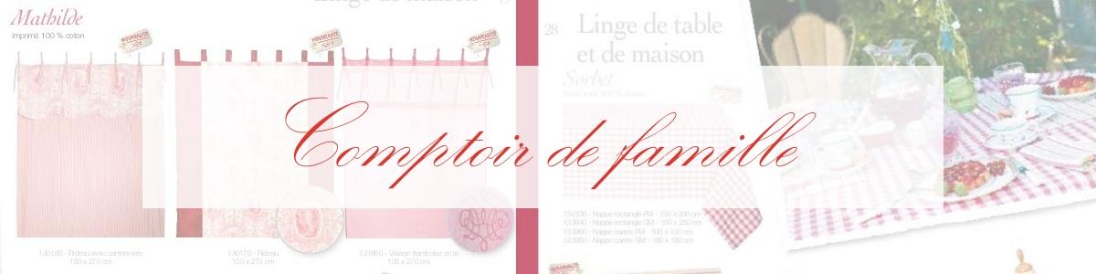 comptoir de famille catalogue pdf le monde de rose. Black Bedroom Furniture Sets. Home Design Ideas