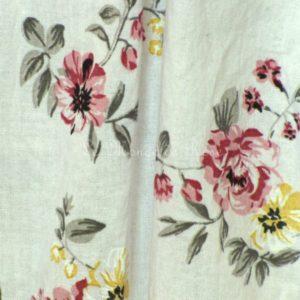 Robe longue d'été fleurie