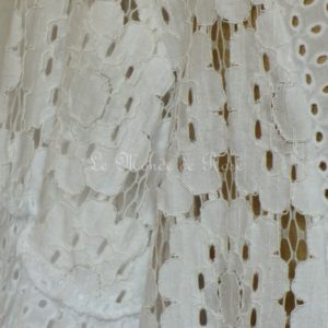 Tunique GUIPURE blanche