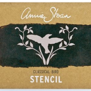 Pochoir Annie Sloan Modèle CLASSICAL BIRD