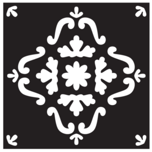 Pochoir REDESIGN Eastern Tile