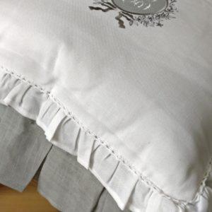 Coussin de chaise FROU-FROU blanc