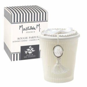 MATHILDE M Bougie parfumée Les Intemporels FLEUR DE COTON