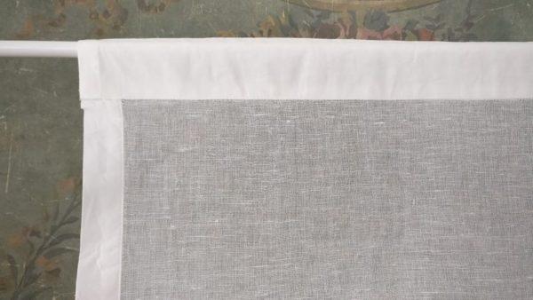 Brise bise lin blanc Modèle BEA