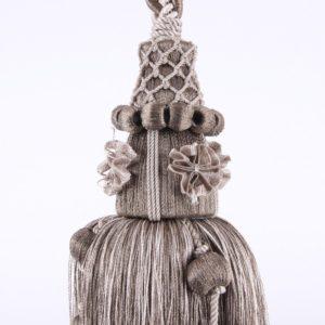 Embrasse de rideau SHABBY Modèle GRIS ANTIQUE