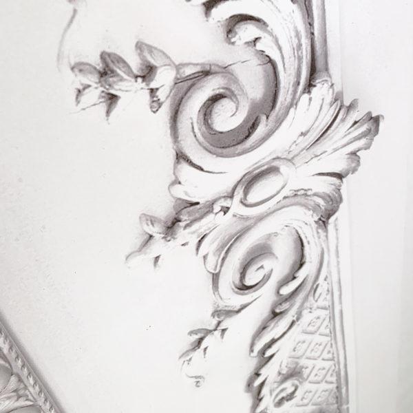 Frise Modèle VOLUTE BLANCHE