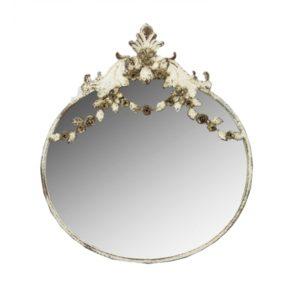 Miroir en métal Modèle SHABBY OVALE 2