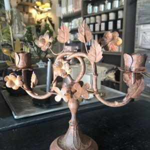 Chandelier métal ROUILLE