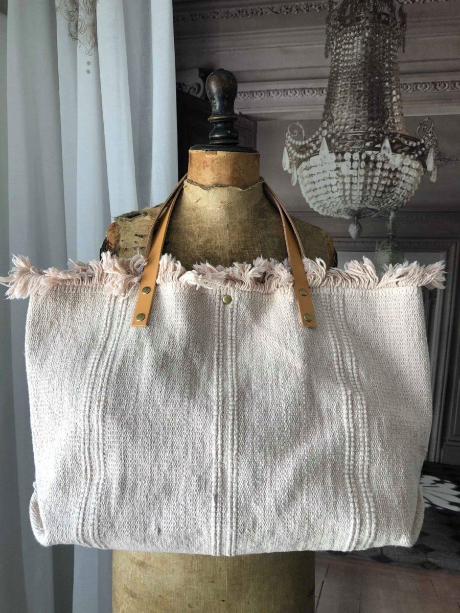 sac de plage rose poudr le monde de rose. Black Bedroom Furniture Sets. Home Design Ideas