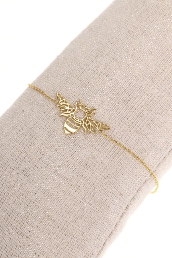 Bracelet ABEILLE doré
