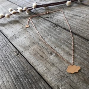 Collier NUAGE rose gold