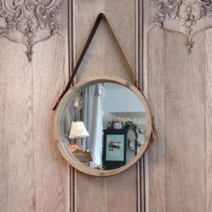 Miroir BOIS à suspendre
