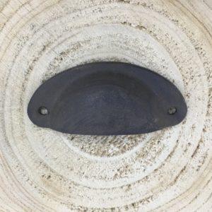 Poignée Coquille métal