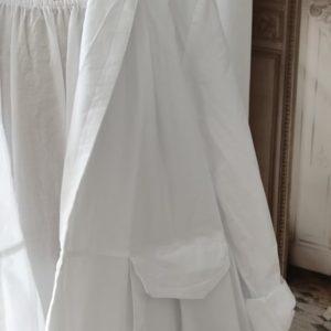 Veste COTON blanche