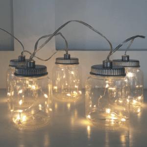 Guirlande lumineuse LED 6 bouteilles