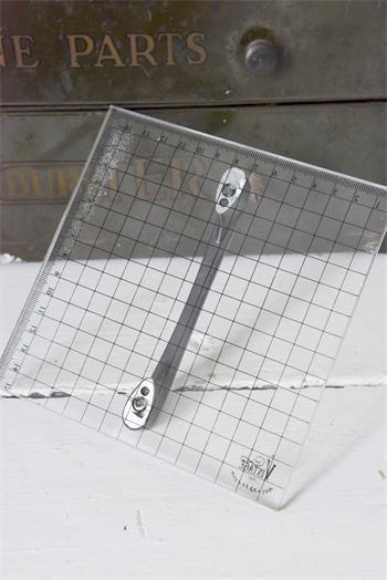 Bloc plexiglas pour tampons décoratifs JDL