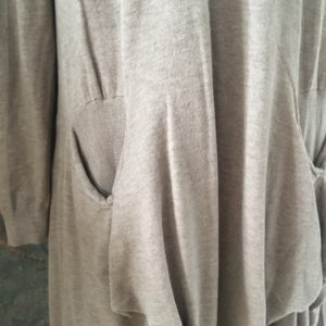 Robe Pull long BEIGE