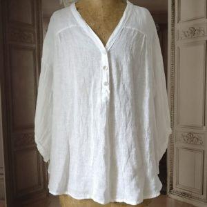 Chemise LIN blanc
