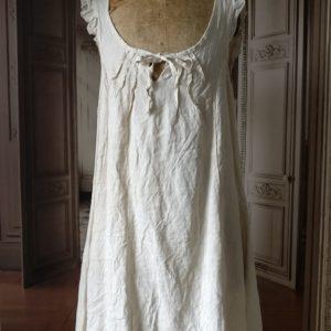 Petite robe d'été LIN beige