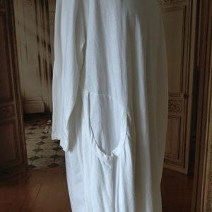 Robe COTON blanc Modèle 1