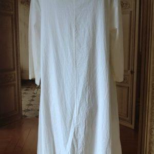Robe COTON blanc Modèle 2
