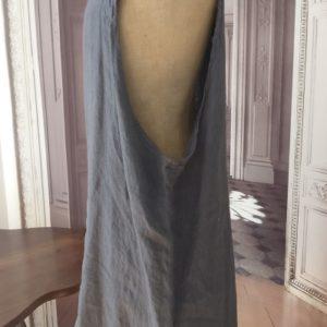 Robe LIN légère anthracite
