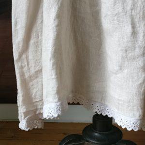 Robe longue LIN crème