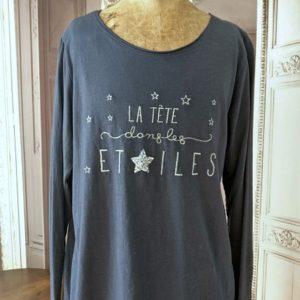 T-shirt LA TÊTE DANS LES ÉTOILES
