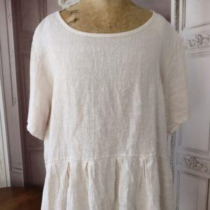 T-shirt LIN beige