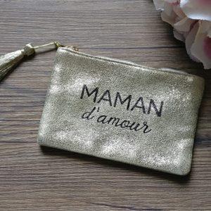 Pochette à message MAMAN D'AMOUR