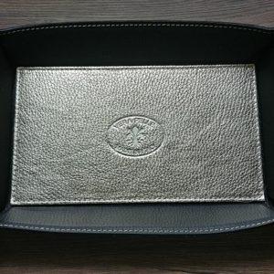 Vide-poche cuir ARTISANAL GM