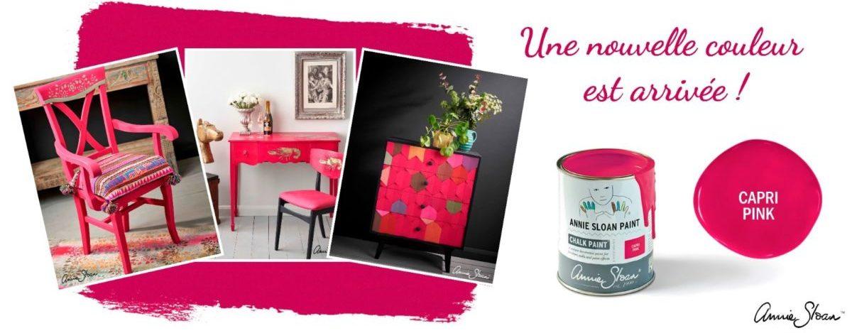 capri pink la nouvelle couleur chalk paint Annie Sloan